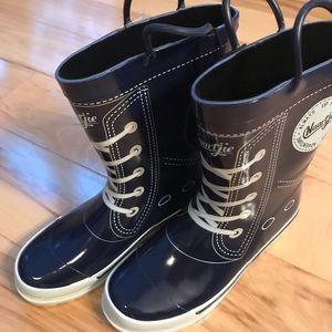 Rain boots - kicks style NWT.